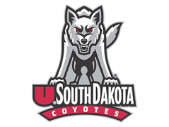 usd coyotes logo \ university of south dakota logo \ university of south dakota coyotes athletics logo \ coyotes logo \ usd coyotes