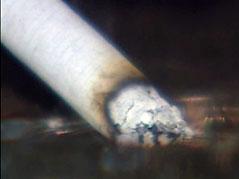 smoking cigarette burn smoke ashtry