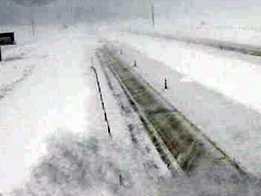 sturgis I-90 \ snowy conditions \ interstate closed \ dot cam
