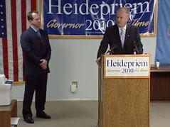scott heidepriem democratic gubernatorial candidate lt. governor Ben Arndt