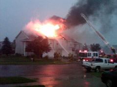 tea house fire