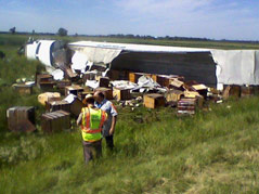 crash i-90 rv vs. semi
