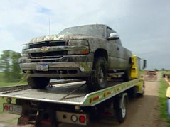 lyon county, iowa body death investigation minnehaha county truck