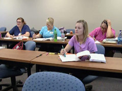 southeast tech institute students health majors