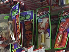 halloween costume accessories make-up