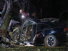 car crash, smashed near SD IA border