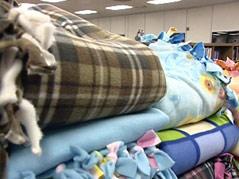 project warm up fleece blankets