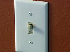 electricity light switch germs