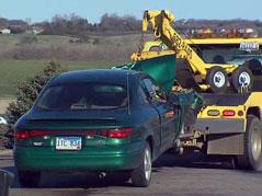 tow truck brandon crash splitrock boulevard sioux boulevard