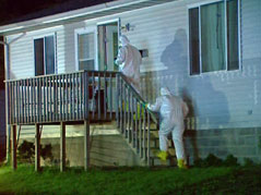 meth lab bust eastern sioux falls 4th street and Cliff Avenue hazmat suits hazardous materials