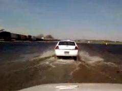 roscoe highway 12 water over road underwater