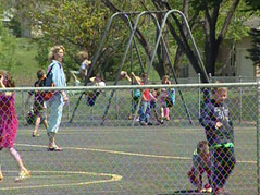 yankton schools opt out vote students play playground recess