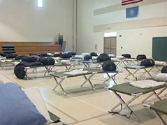 red cross shelter flooding help disaster assistance