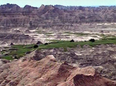 badlands / national park