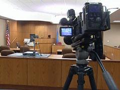 cameras / cameras in court / case