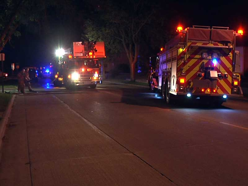 sioux falls fire department fire trucks garage fires central city three in matter of hours
