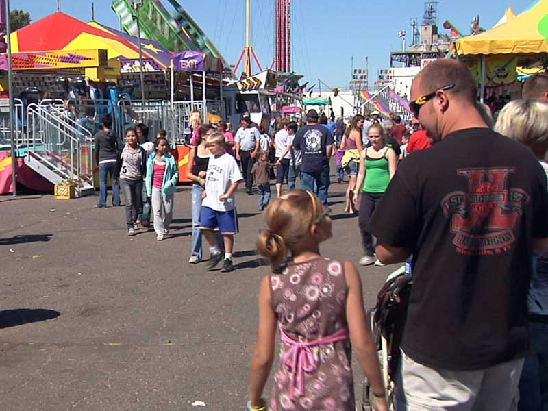 sd state fair huron crowds