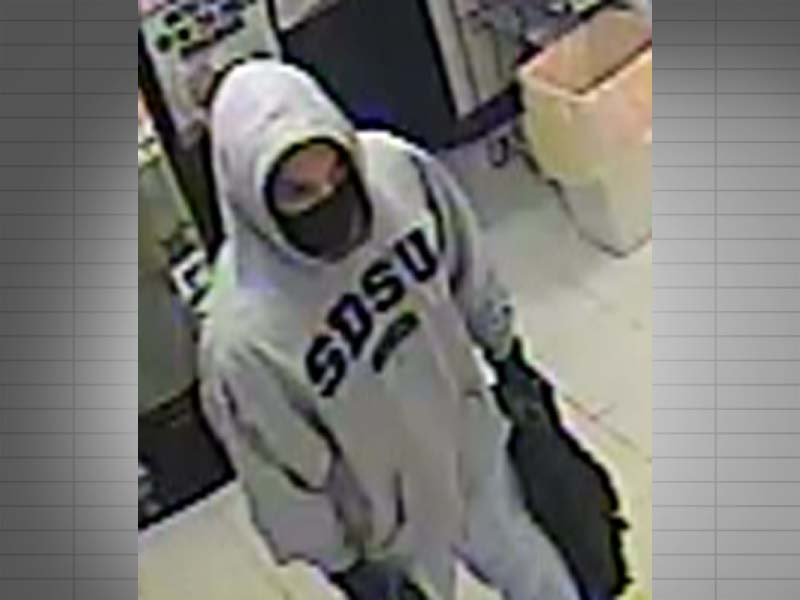 yankton convenience store armed robbery suspect