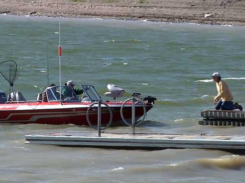 lake akaska tourism fishing boat