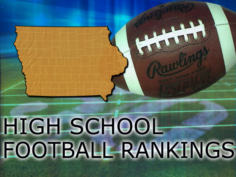 IOWA high school football rankings generic