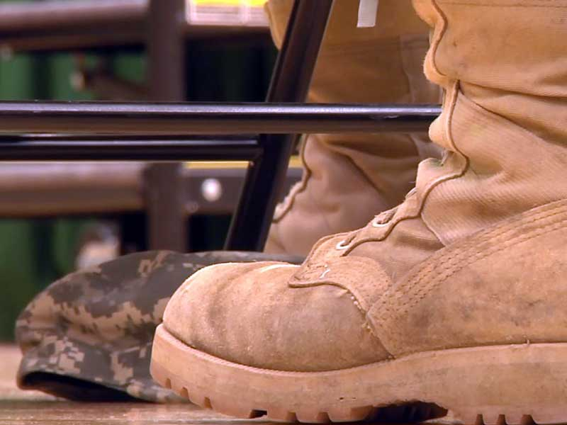 national guard deployment boots military