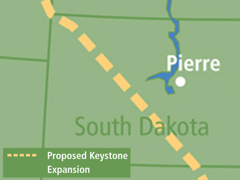 TransCanada Keystone XL pipeline through SD