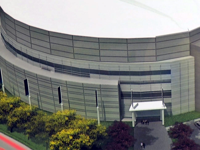 events center drawings proposal