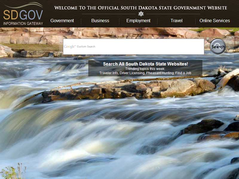 sd website sd.gov