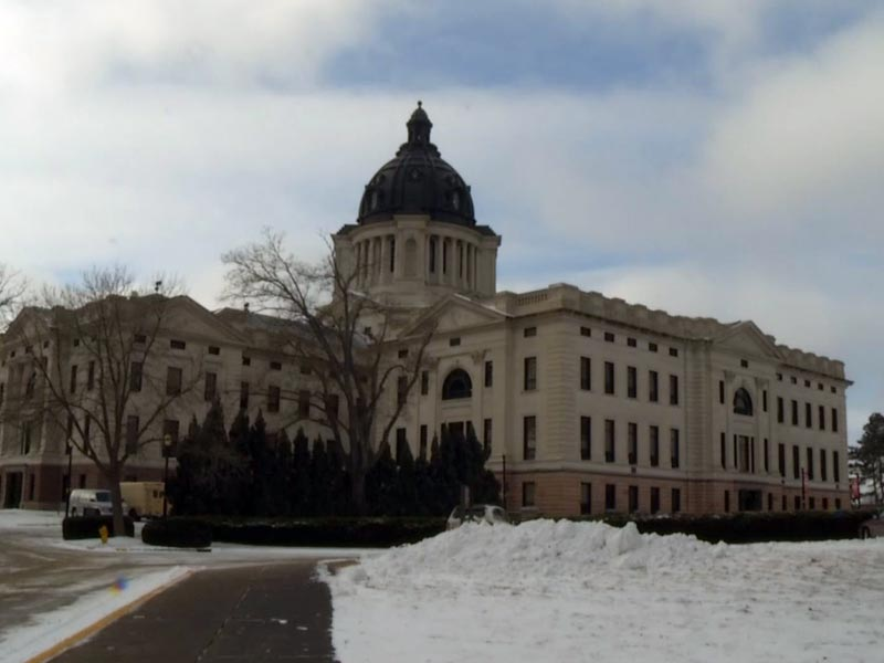 pierre state capitol lawmakers legislature SNOW