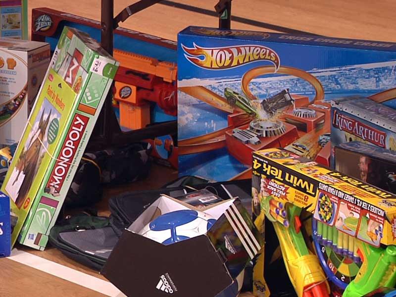 salvation army toy town children
