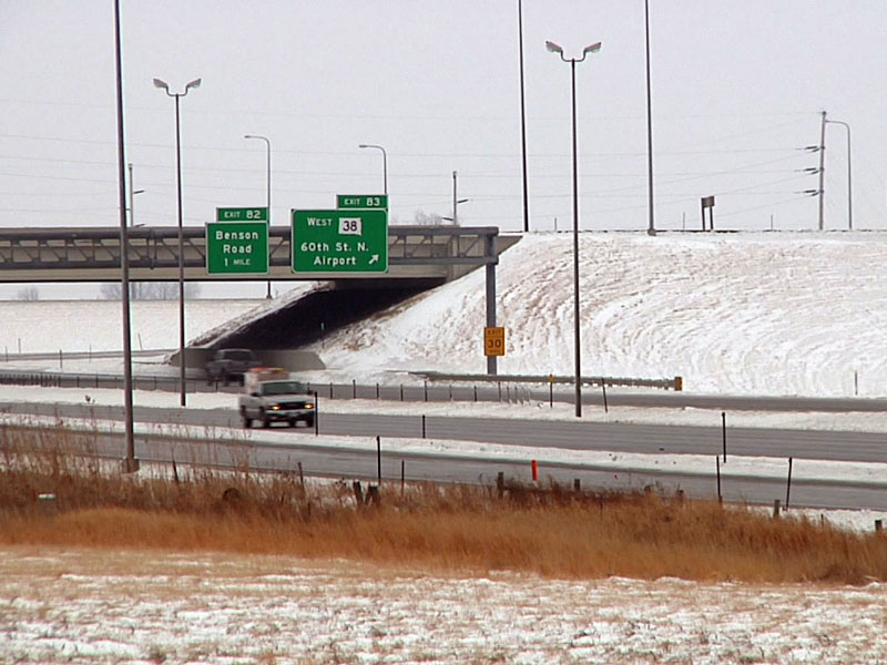interstate travel road conditions winter slick slippery