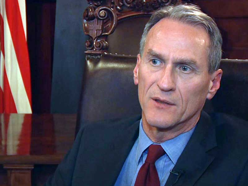 governor dennis daugaard interivewed when lawmakers proposed amendments to education teacher bonus proposal