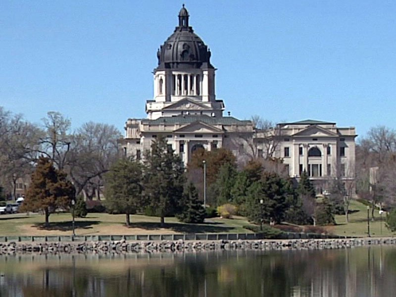 pierre capitol building lawmakers legislature legislators laws politics state capital lake