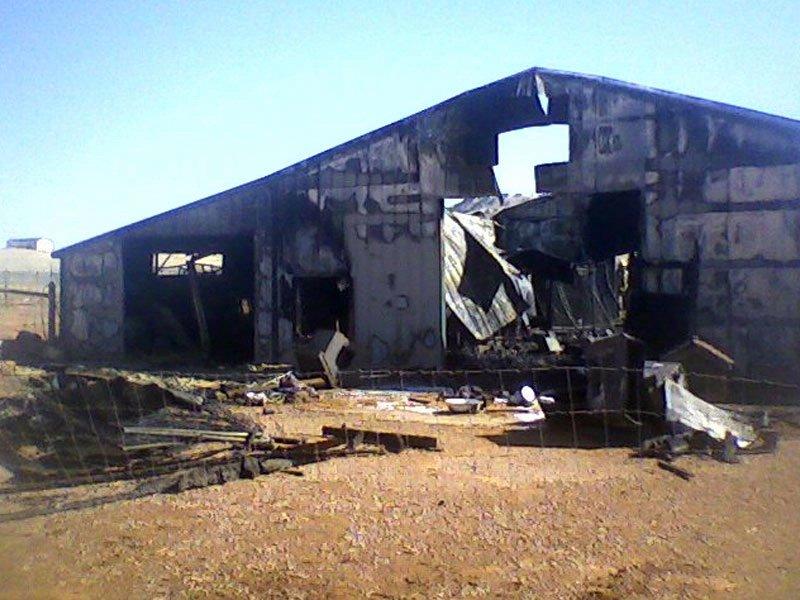 animal shelter fire dogs cats killed caretaker injured