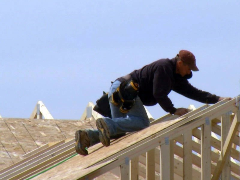 new home construction roofing building housing market neighborhood