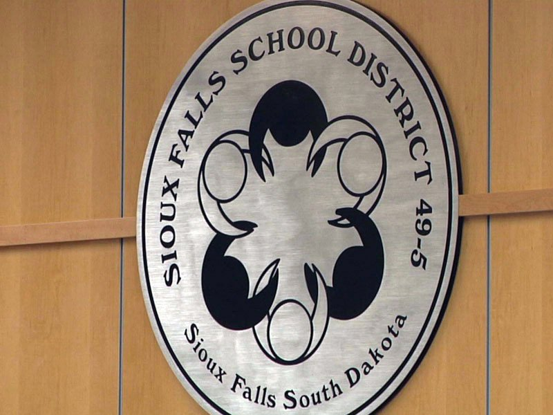 sioux falls school district logo icon seal