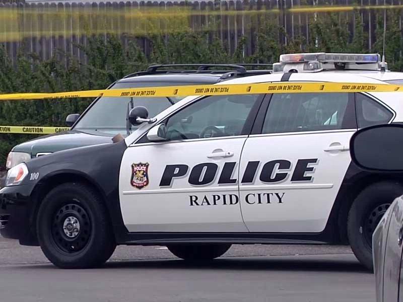 rapid city stabbing walmart woman killed man standoff days inn
