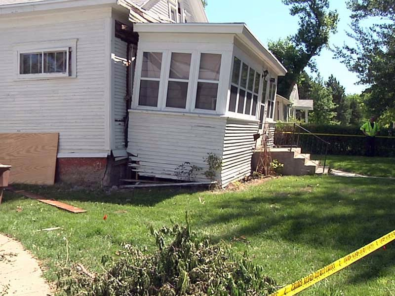 mitchell house explosion