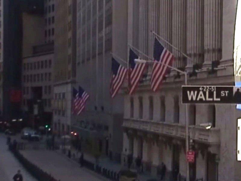 wall street new york financial center