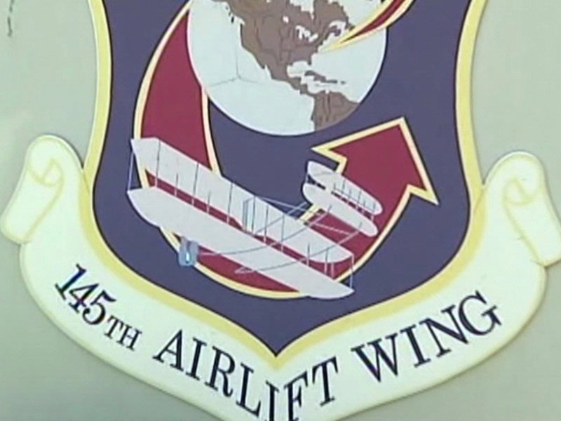 north carolina air national guard crest of crew killed in edgemont while fighting wildfires c-130