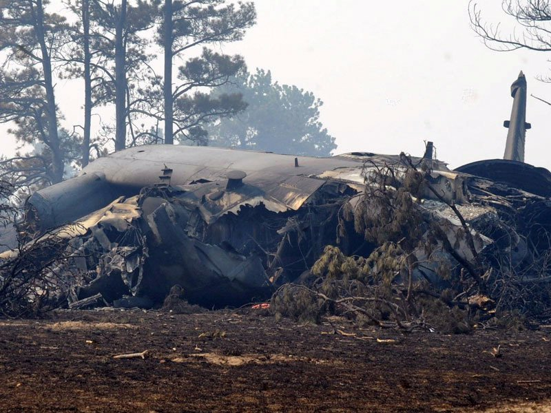 C-130 crash black hills white draw fire four people killed (U.S. Air Force photo by Airman 1st Class Anania Tekurio/Released)