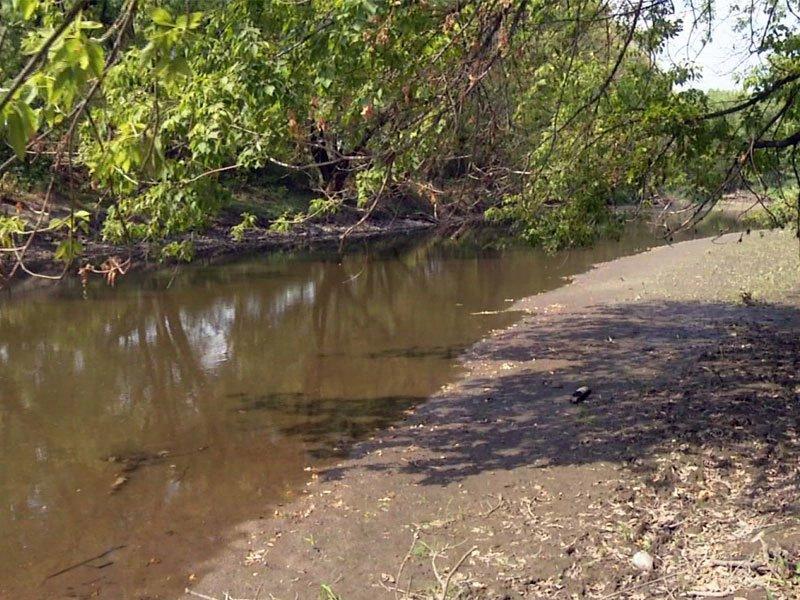 river hot heat drought