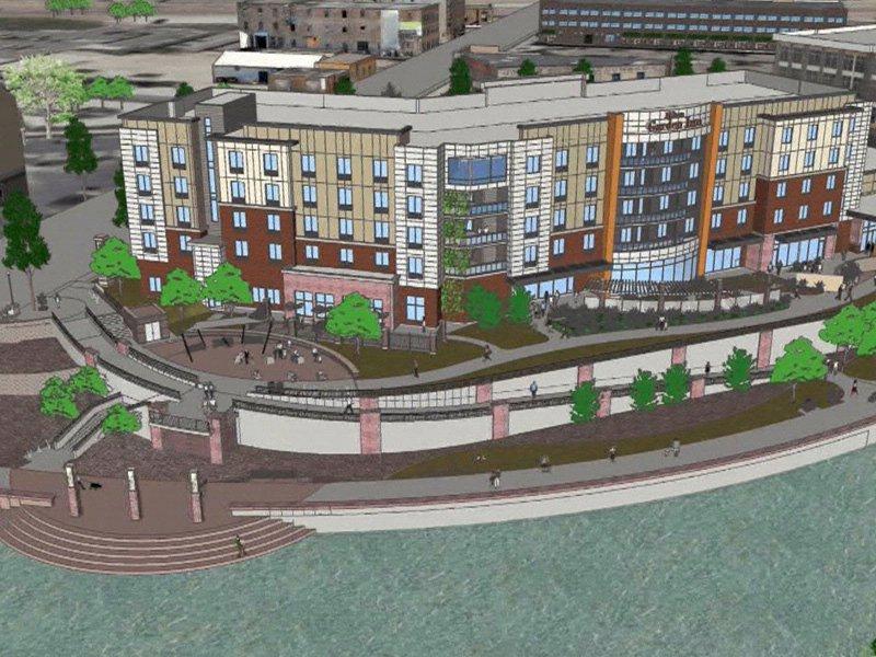 Hilton Garden Inn To Change Downtown Skyline