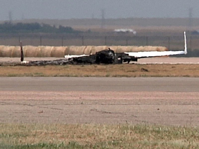 pierre plane crash pilot killed