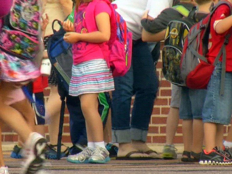 kids backpack size correct hurt spine