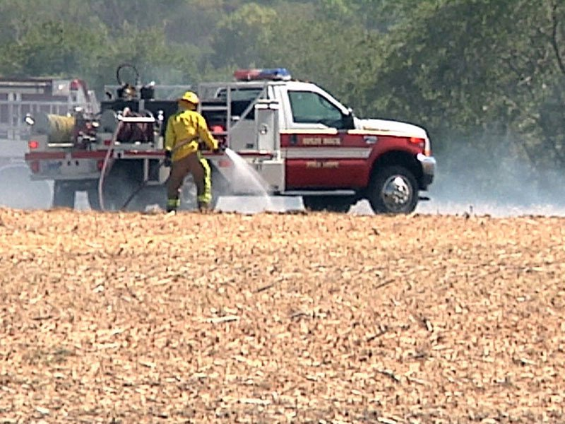 bean field fire red flag warning day