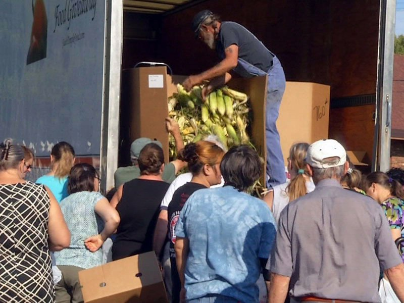 Faith temple food giveaway