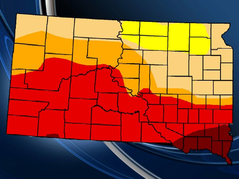 sd drought monitor for week of September 10 (from conditions on September 11)