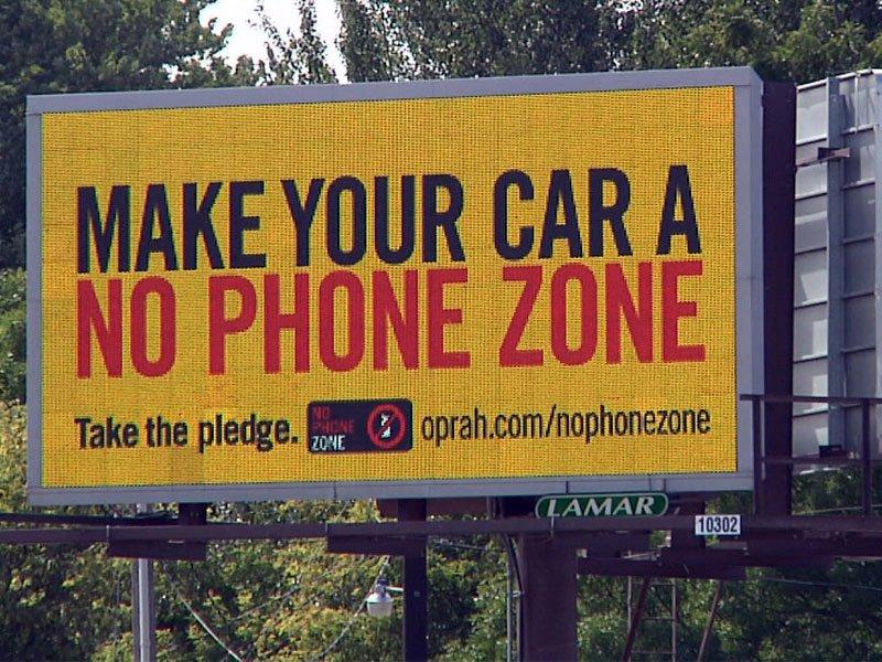 make your car a no phone zone