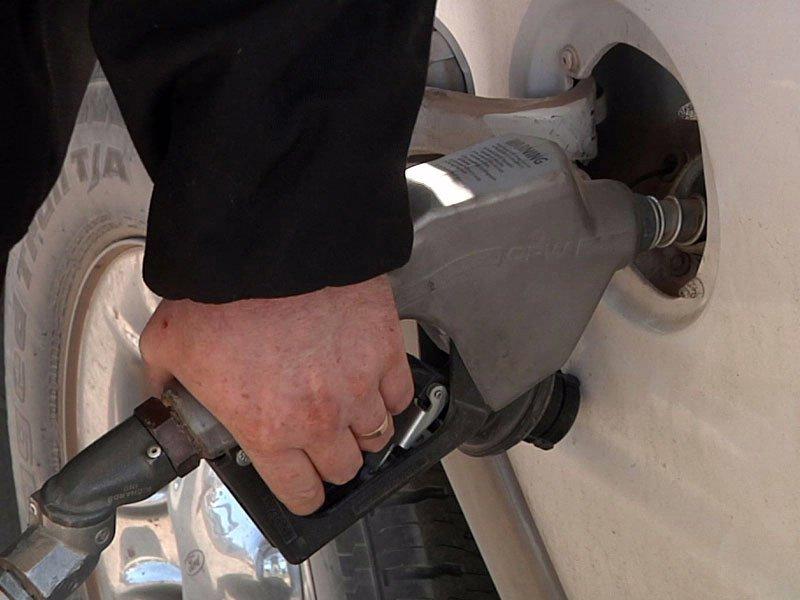 gas station pump 281 travel center wolsey sold 85 octane fuel